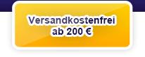 Versandkostenfrei bestellen ab € 200,00 Bestellwert