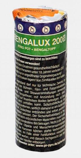 Bengalux 200S - Rauch- Bengaltopf / Pyropot - grün