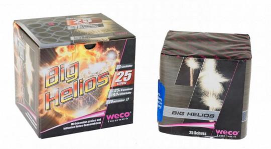Big Helios, 25-Schuss-Batterie