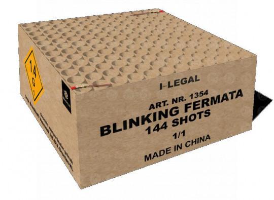 Blinking Fermata, 144-Schuss-Verbundfeuerwerk