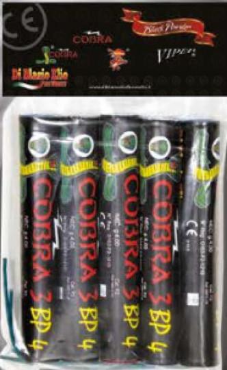 Cobra 3 Böller BP 4 von Di Blasio Elio Fireworks, 5er Pack