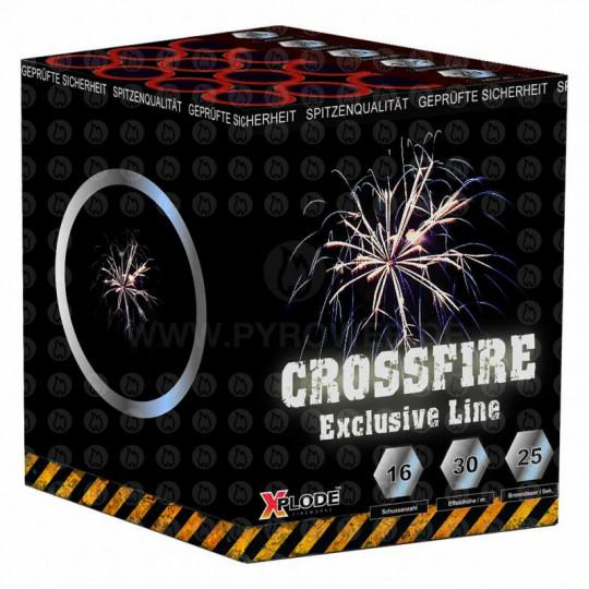 Crossfire Crossette, 16 Schuss Batterie