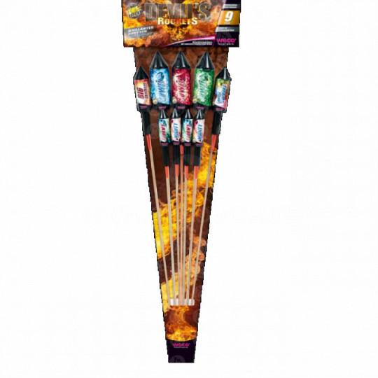 Devil Rockets, 9er Raketen-Set