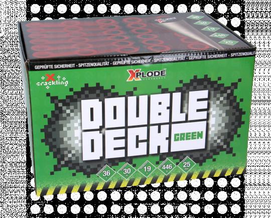 Double Deck Green, 36-Schuss-Fächerbatterie