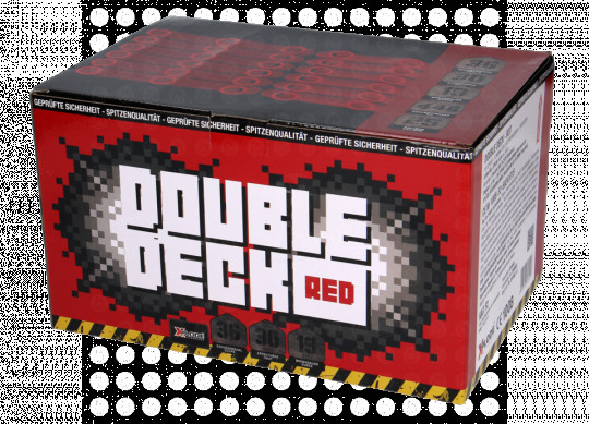 Double Deck Red, 36 Schuss Batterie
