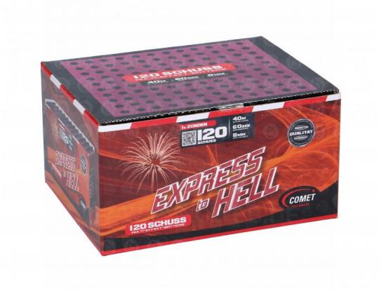 Express to Hell, 120 Schuss Multi-Effekt-Batterie