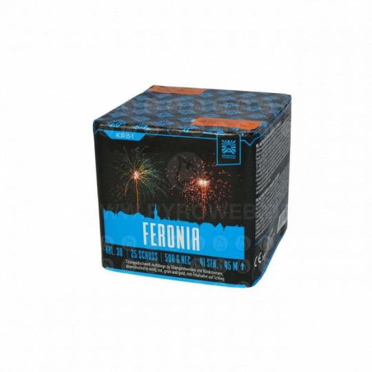 Feronia, 25-Schuss-Batterie