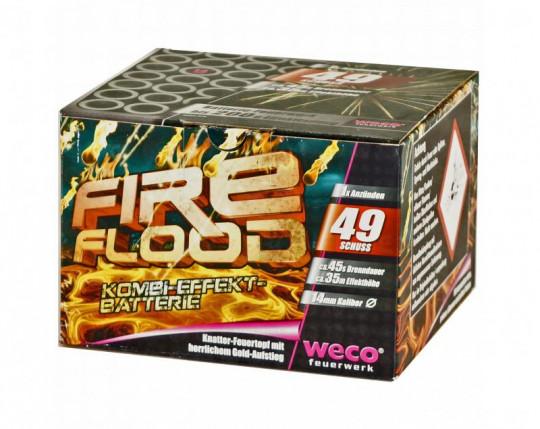 Fireflood, 49 Schuss Batterie