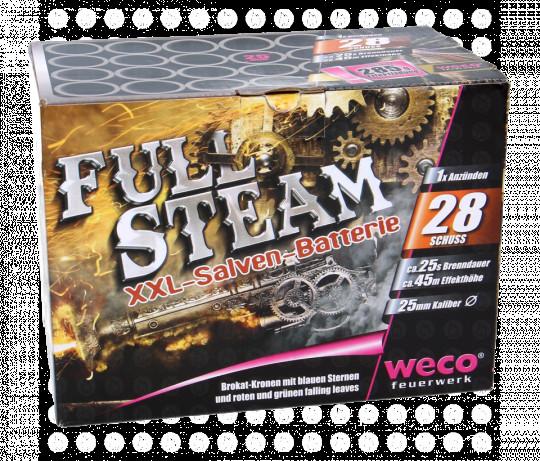 Full Steam, 28 schuss Salvenbatterie