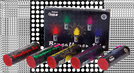 Funke Bengalfeuer-Mix R-G-Y-B-P