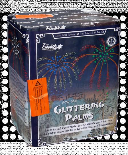 Funke Glittering Palms, 20 Schuss Batterie