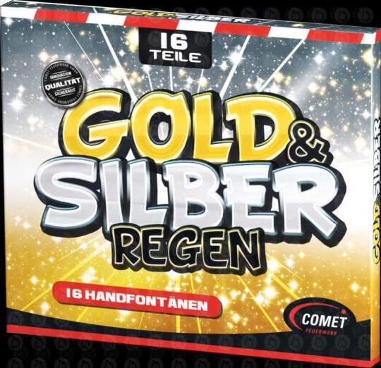 Gold- und Silberregen, 16er Pack