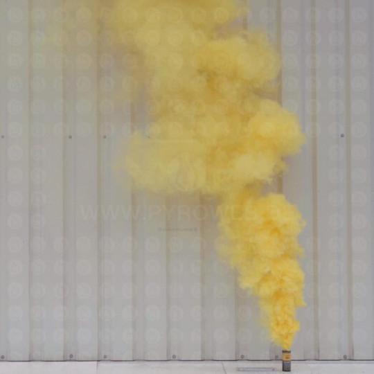 Großer Rauchtopf - Pyrorauch XL200, GELB