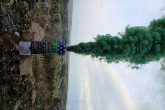 Großer Rauchtopf - Pyrorauch XL200, GRÜN