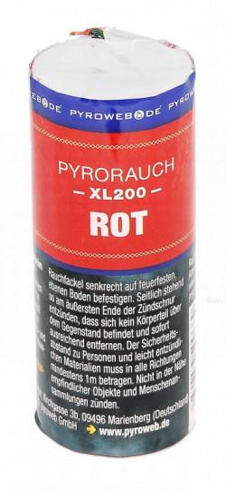 Großer Rauchtopf - Pyrorauch XL200, ROT