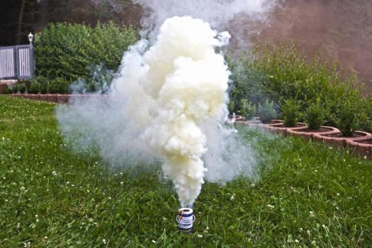 Großer Rauchtopf - Pyrorauch XL200, WEIß