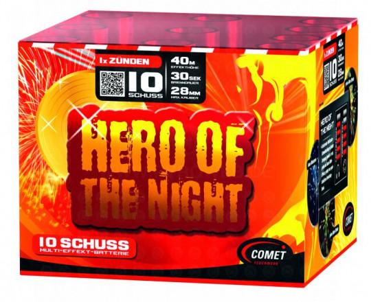 Hero of the Night, 10-Schuss-Batterie