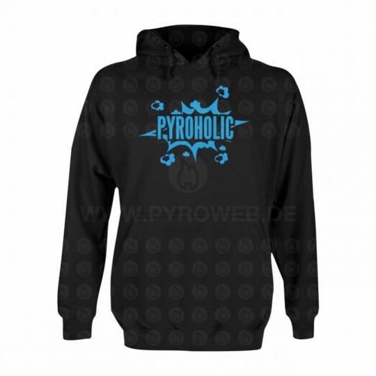 Hooded Sweat Schwarz: Pyroholic