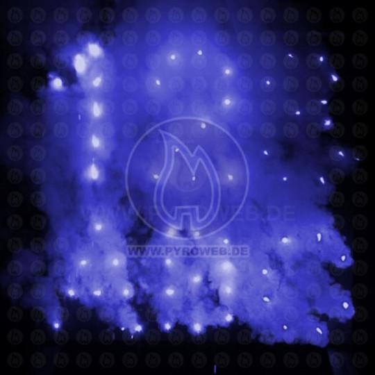 Lichterbild / Feuerbild blau