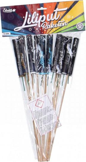 Liliput-Raketen, 10er-Set