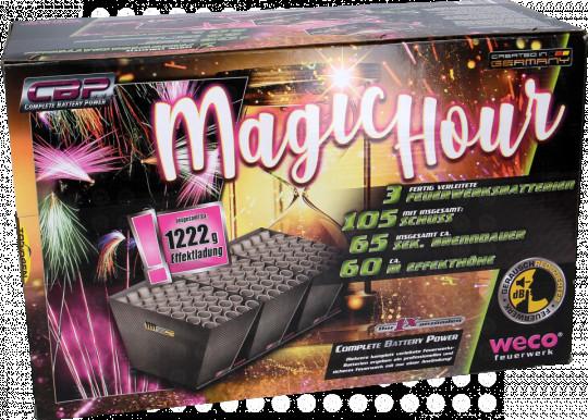 Magic Hour, 105 Schuss Komplettfeuerwerk