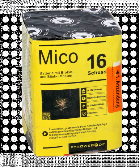 Mico, 16-Schuss-Batterie