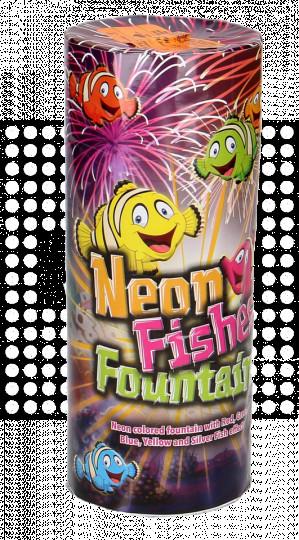 Neon Fishes Fountain