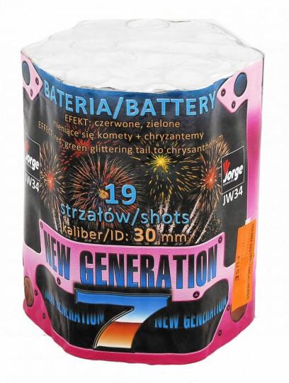 New Generation 7, 19 Schuss Batterie