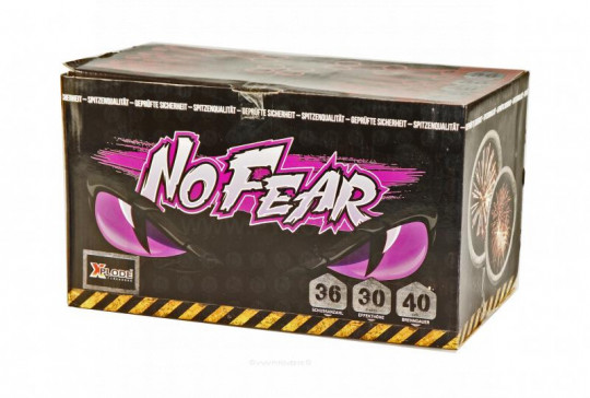 No Fear, 36 Schuss Batterie