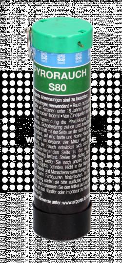 Pyrorauch S80 mit Schlagzündung - grün