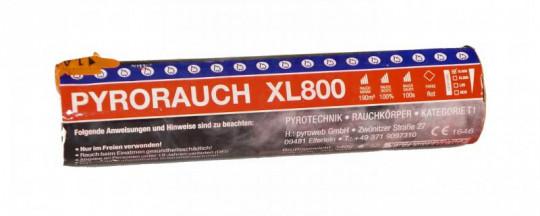 Pyrorauch XL800 Rot - Rauchpatrone / Jumbo Rauch