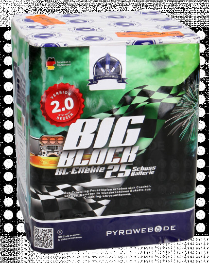 Big Block V2.0 - 25 Schuss Premium-Batterie