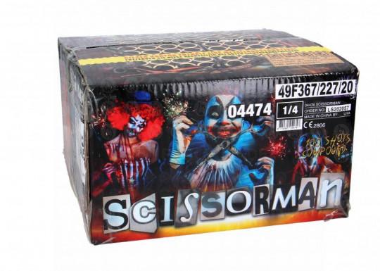 Scissorman, 100-Schuss-Verbundfeuerwerk