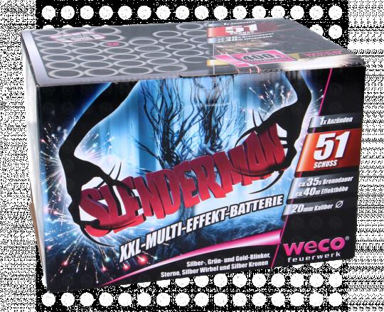 Slender-Man, 51 Schuss Batterie