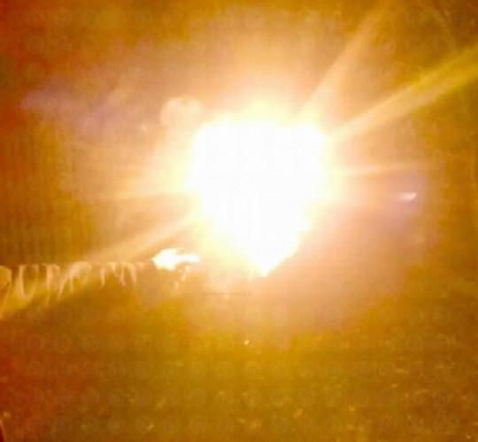 Starklicht Bengalfackel, Gelb (Bengalo)