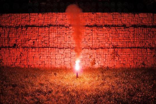 Starklicht Bengalfackel, Rot (Bengalo)