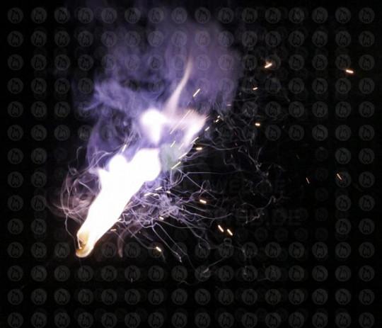 Starklicht Bengalfackel, Weiß (Bengalo)