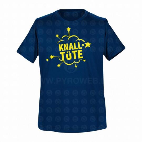 T-Shirt Navy: Knalltüte