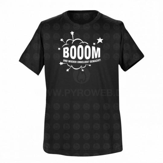 T-Shirt Schwarz: Booom und wieder unbeliebt gemacht!
