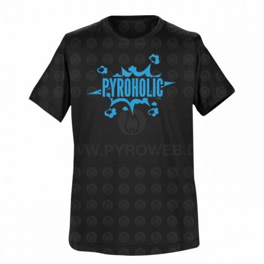 T-Shirt Schwarz: Pyroholic