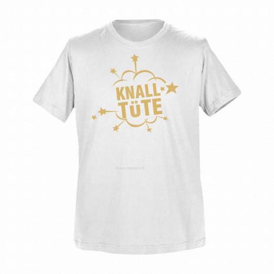 T-Shirt Weiß: Knalltüte