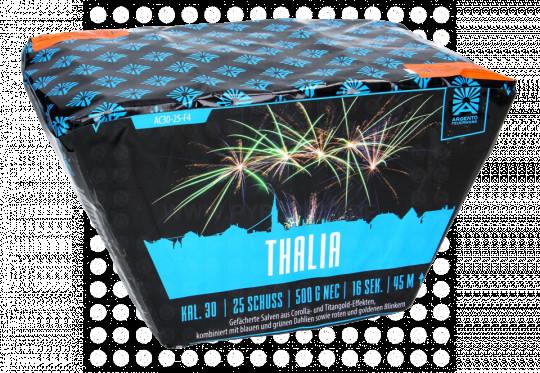 Thalia, 25-Schuss-Fächerbatterie