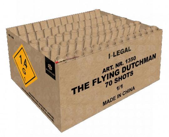The Flying Dutchman, 70-Schuss-Verbundbatterie im Fächer