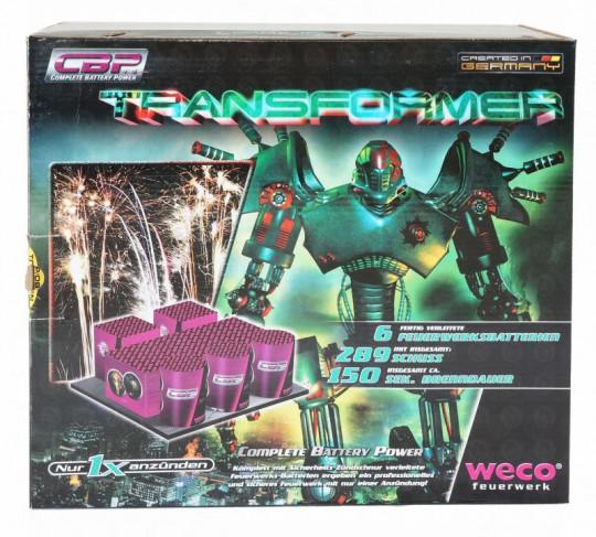 Transformer,  289-Schuss-Batterie